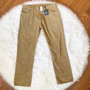 NEW GAP Men's Brown Corduroy Pants